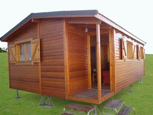 17 mejores im genes sobre casas de madera en pinterest - Casitas de madera prefabricadas ...