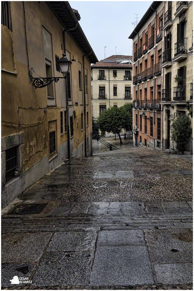 El Madrid romántico.