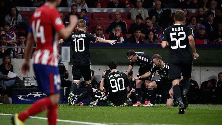 Karabağ'ın UEFA Şampiyonlar Ligi'nde Atletico Madrid ile 1-1 berabere kalarak ilk deplasman puanını kazanması, Azerbaycan medyasında geniş yer buldu.