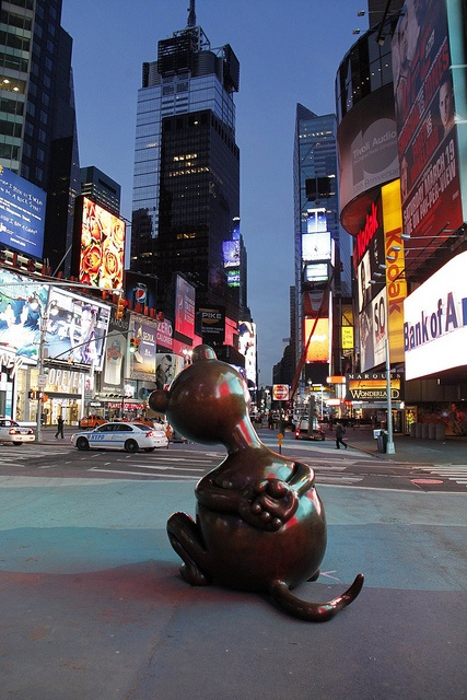 Mouse by Tom Otterness by Times Square Public Art, via Flickr