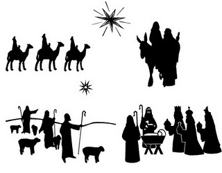 nativity - would work well made with scroll saw.