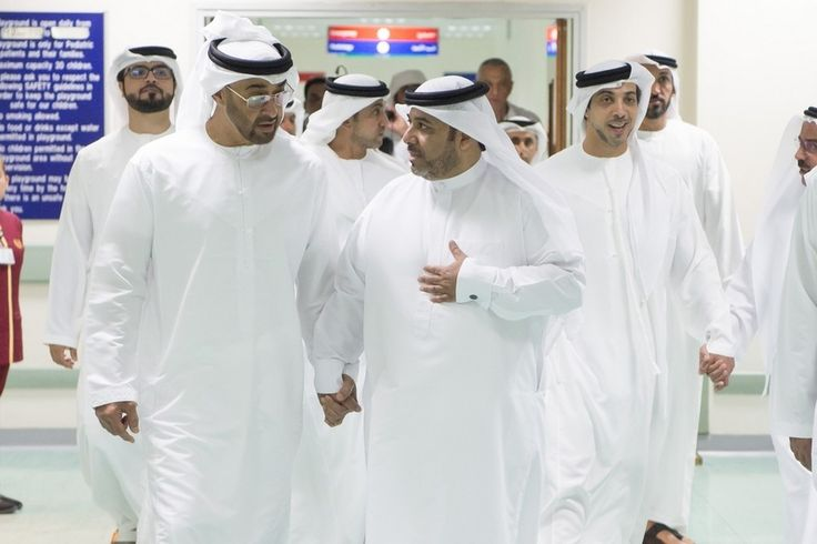 Sheikh Mohammed and Sheikh Mansour visit knife attack survivors in hospital