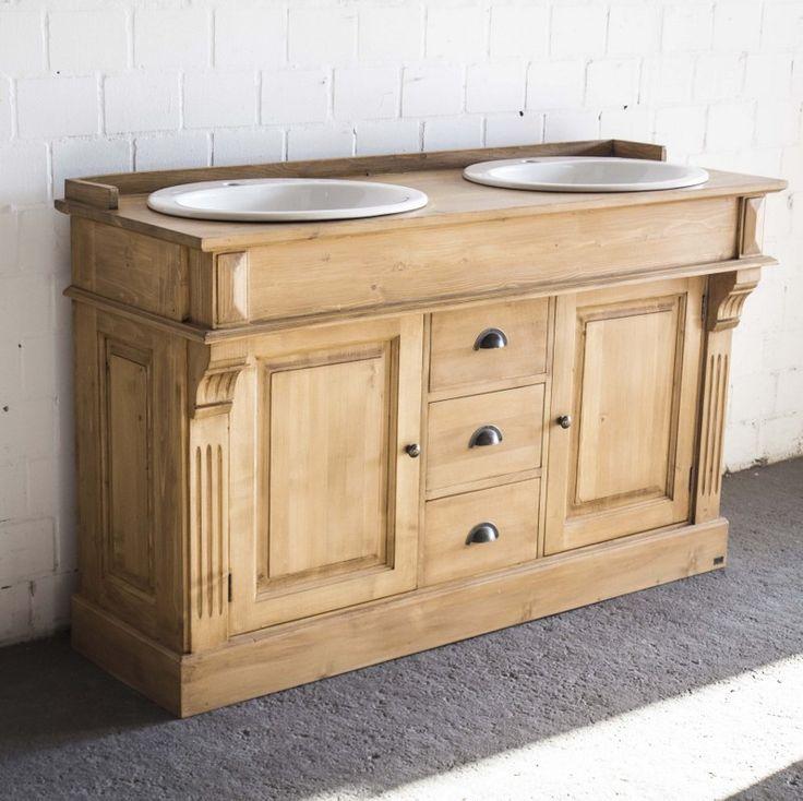 Badezimmermöbel im Landhausstil gibt es bei richhome in großer Auswahl. Waschtische in Farben weiß, schwarz, grau und Antik-Natur gibt es bei richhome sofort zu haben.
