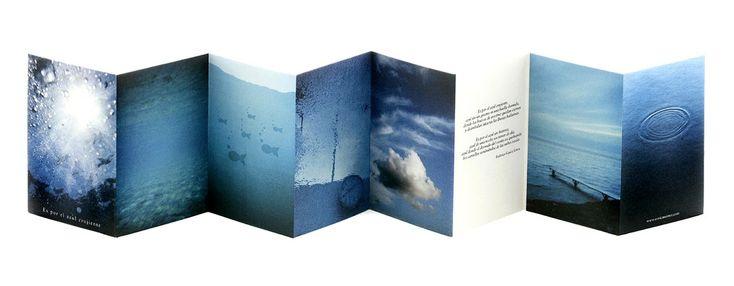 """""""Es por el azul crujiente"""" de Enric Montes"""
