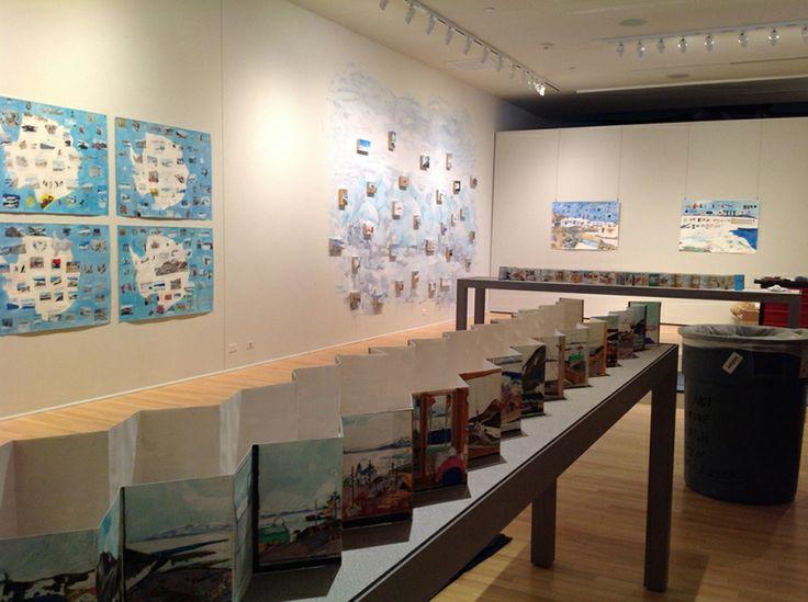 Elise Engler : Travel Drawings and Paintings : Antarctica