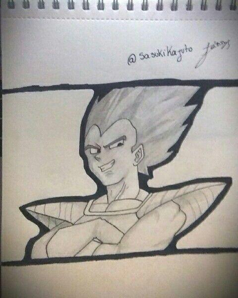 Vegeta, Dragon Ball
