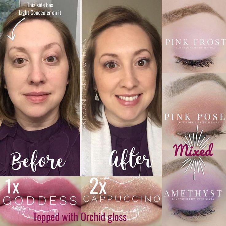 | Makeup Look of the Day! |  #motd #makeup #bblogger #makeuplover #cosmetics #kissandmakeupwithjen #beauty #purplefashion #purple #shadowsense #lipsense #senegence