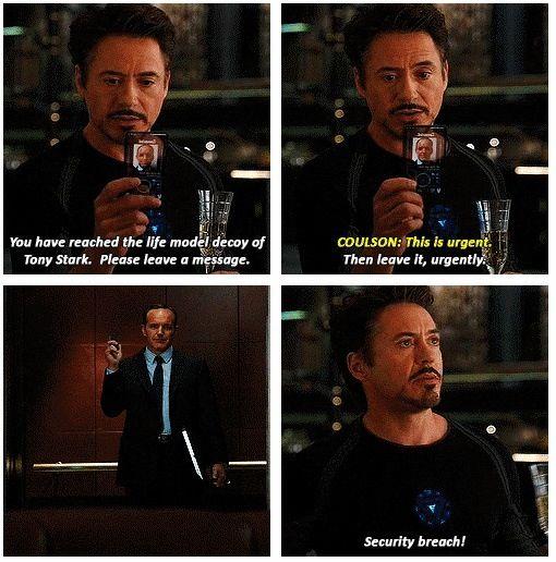 Avengers- movie quote