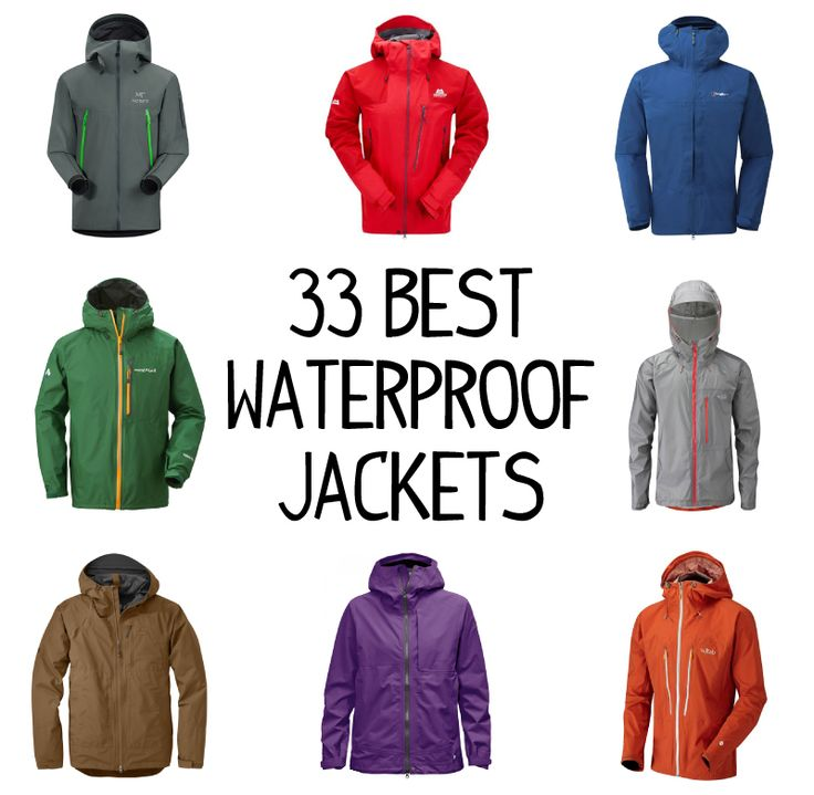 33 Best Waterproof Jackets For Hiking and Backpacking. All these top waterproof hiking jackets are stormproof, totally breathable, windproof, and durable!