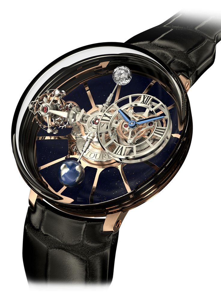 Astronomia Tourbillon, la montre qui fait tourner les têtes et les planètes