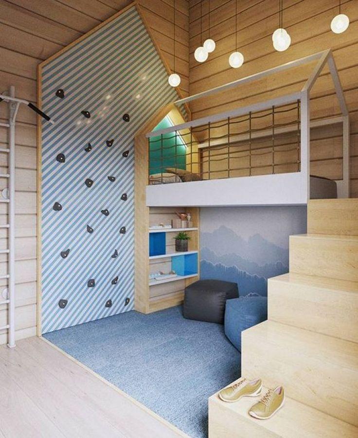 mommo design loft beds - Wall Design For Kids