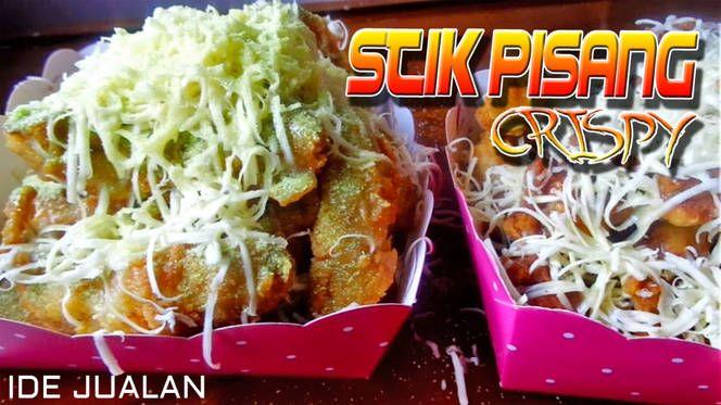 Resep Stik Pisang Pisang Goreng Crispy Ide Jualan Oleh Dapur Mai Resep Resep Pisang Soda Kue