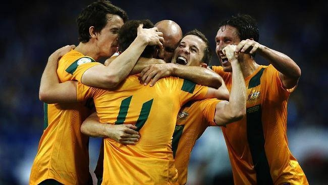 Congrats to the Socceroos. Qualifying for the 2014 World Cup.