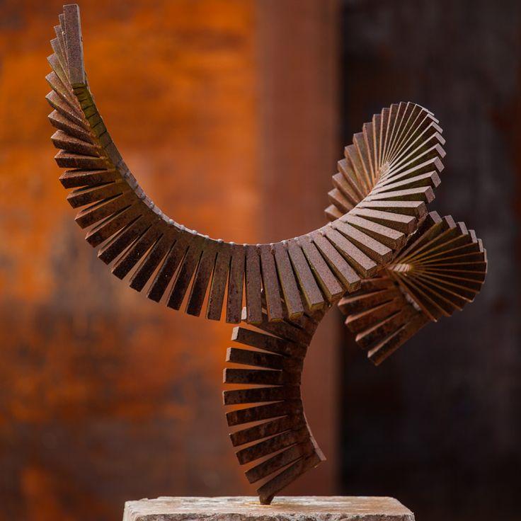 Die besten 25+ Stahlskulptur Ideen auf Pinterest Metallskulptur - brunnen la sculptura