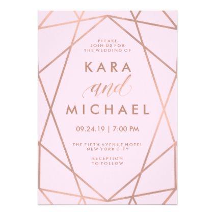 211 besten Wedding Invitations geometric Bilder auf Pinterest