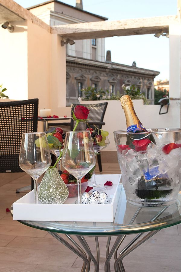 Your luxury suite with view | Terrazza Marco Antonio luxury Suite ...