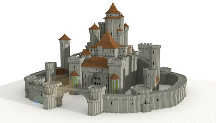 Castle I Made In Minecraft Download Link Http Www