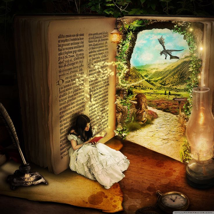 A book comes alive...