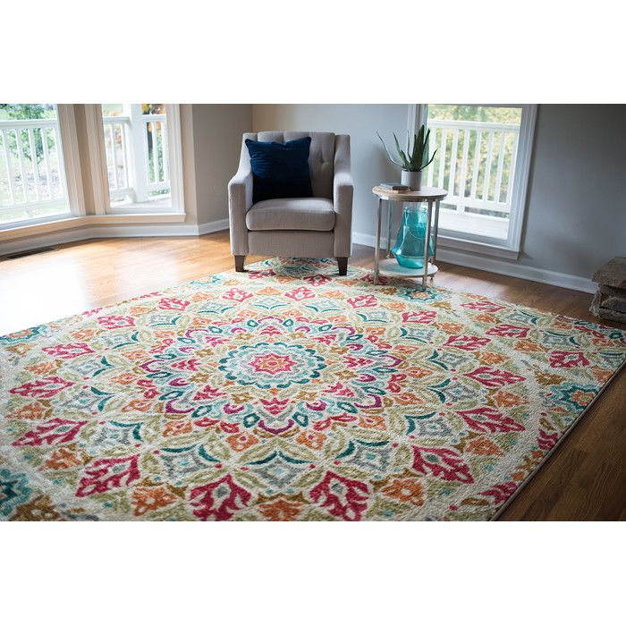Mohawk Home Strata Red Indoor Area Rug & Reviews | Wayfair