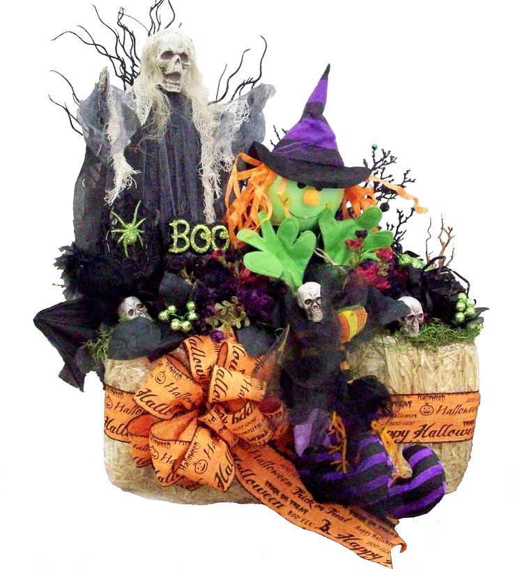 Halloween hay bale designed by karen b a c moore erie for Michaels craft store erie pa