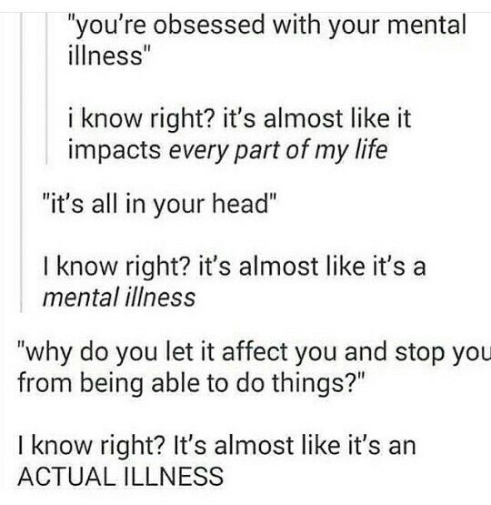 I CANT JUST SIMPLY DO SOME THINGS I GET TO NERVOUS BECAUSE OF MY SOCIAL ANXIETY SO DONT YOU DARE PRETEND ITS NOT A REAL ILLNESS