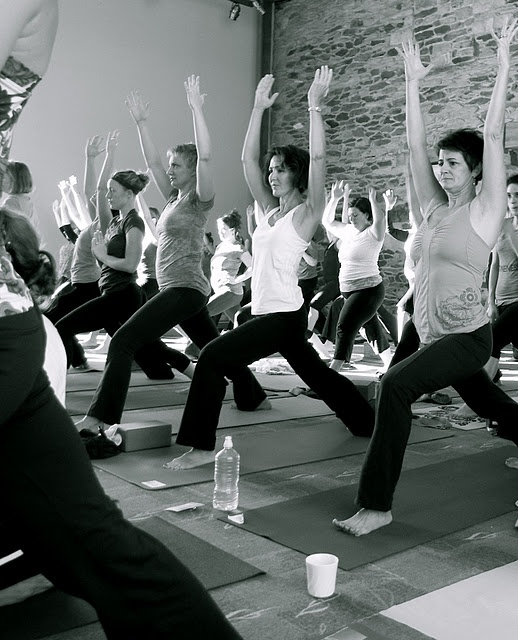 Holy God, yoga classes