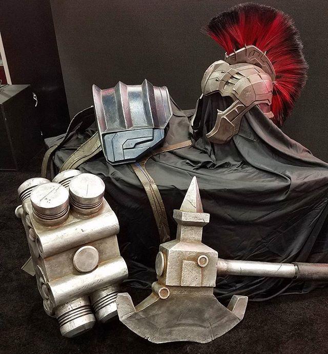 Gladiator Hulk Armor Revealed For Thor: Ragnarok