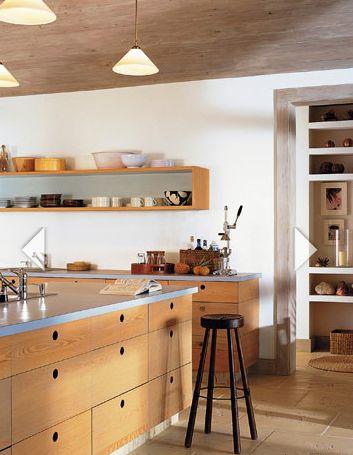 Mount A Rectangular Box Shelf To Optimize Kitchen Storage Via House Beautiful Magazine