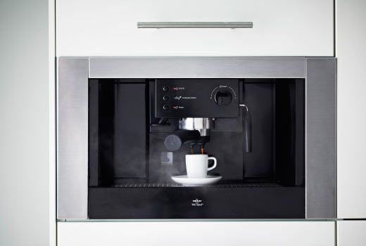 ikea espresso machine built in to save worktop space. Black Bedroom Furniture Sets. Home Design Ideas