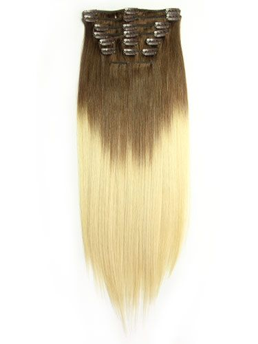 20 best hair images on pinterest dip dye hair dip dyed and dyed i dip dye clip in straight hair chocolate brownlightest blonde pmusecretfo Choice Image