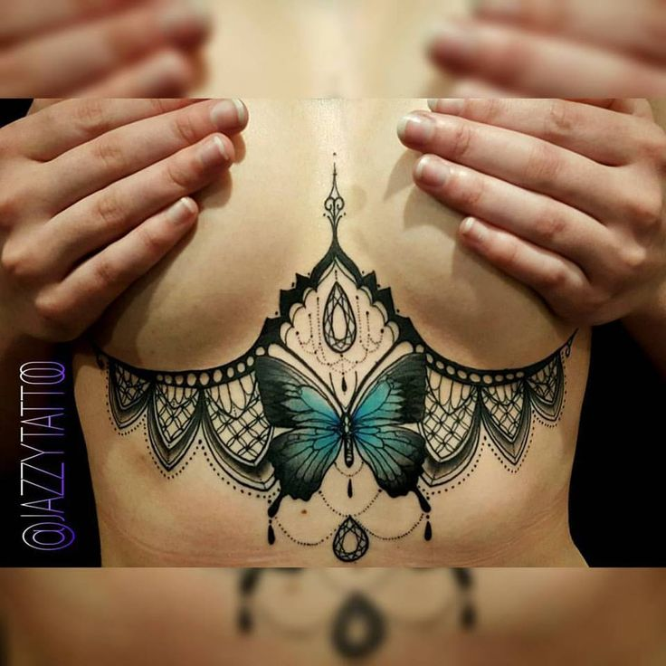 A very popular placement for tattoo's on females lately, a crisp piece tattooed…