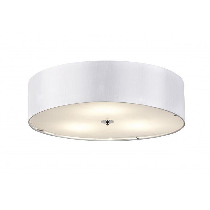 Endon Lighting Franco 3 Light Large Flush Ceiling Fitting