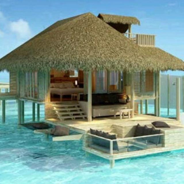 Sun, beach, summer, water, ocean, - my house (I wish!!)