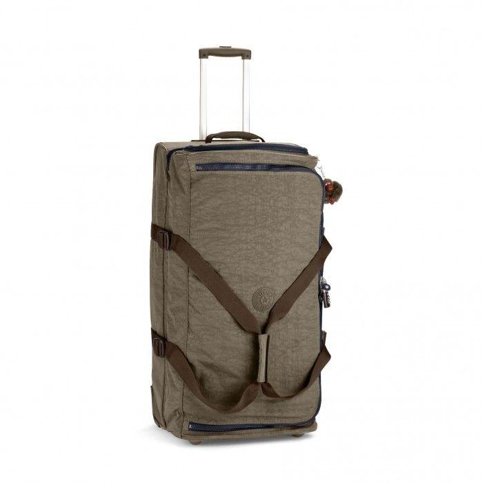 Kipling Basic Wheeled Luggage Teagan L Trolley-Reisetasche Soft Khaki C