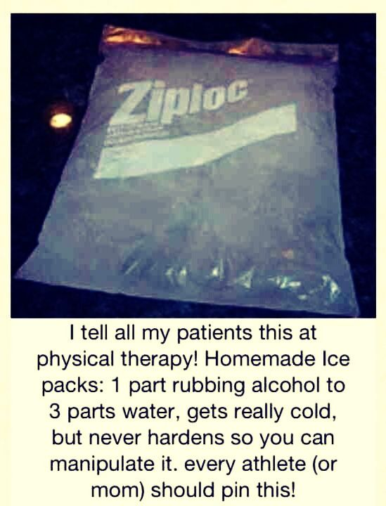 ✨Homemade Ice Pack👍