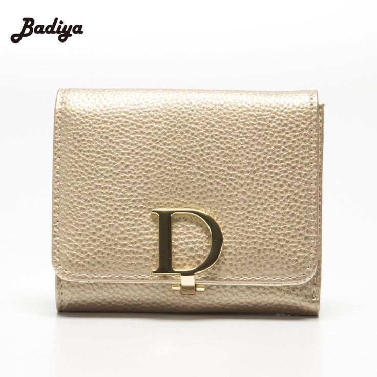New Korea Style Women Purses Fashion Ladies Leather Clutch Bag Short Wallet 3 Fold Card Holder Money Coin Bag
