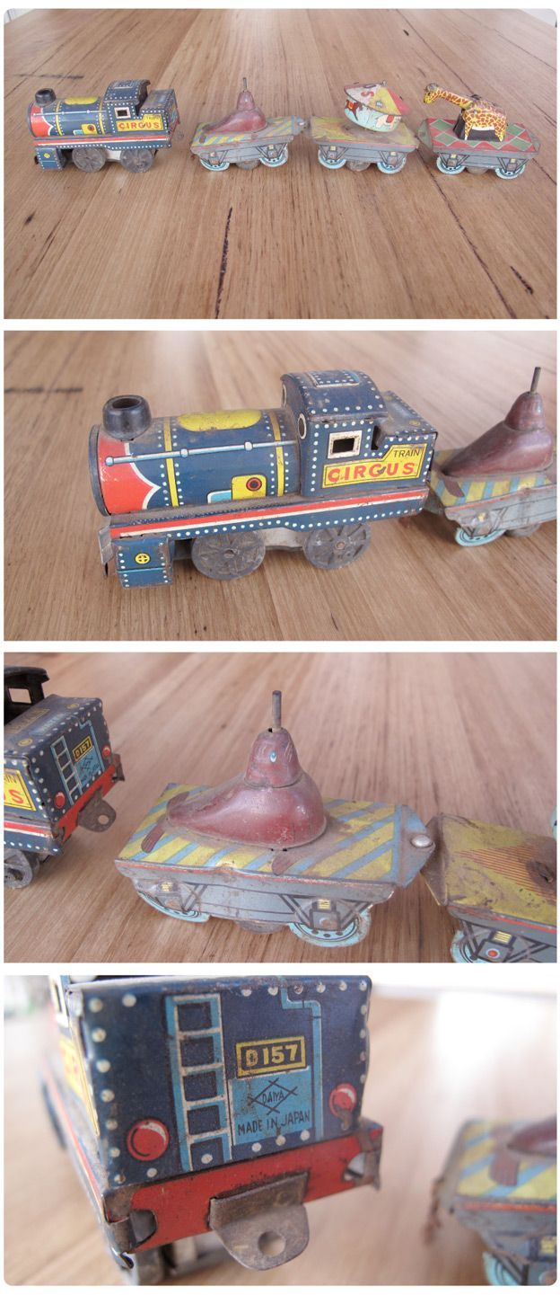 Claasic vintage toys vintage toys second shout out http www - Antique Tin Circus Toys