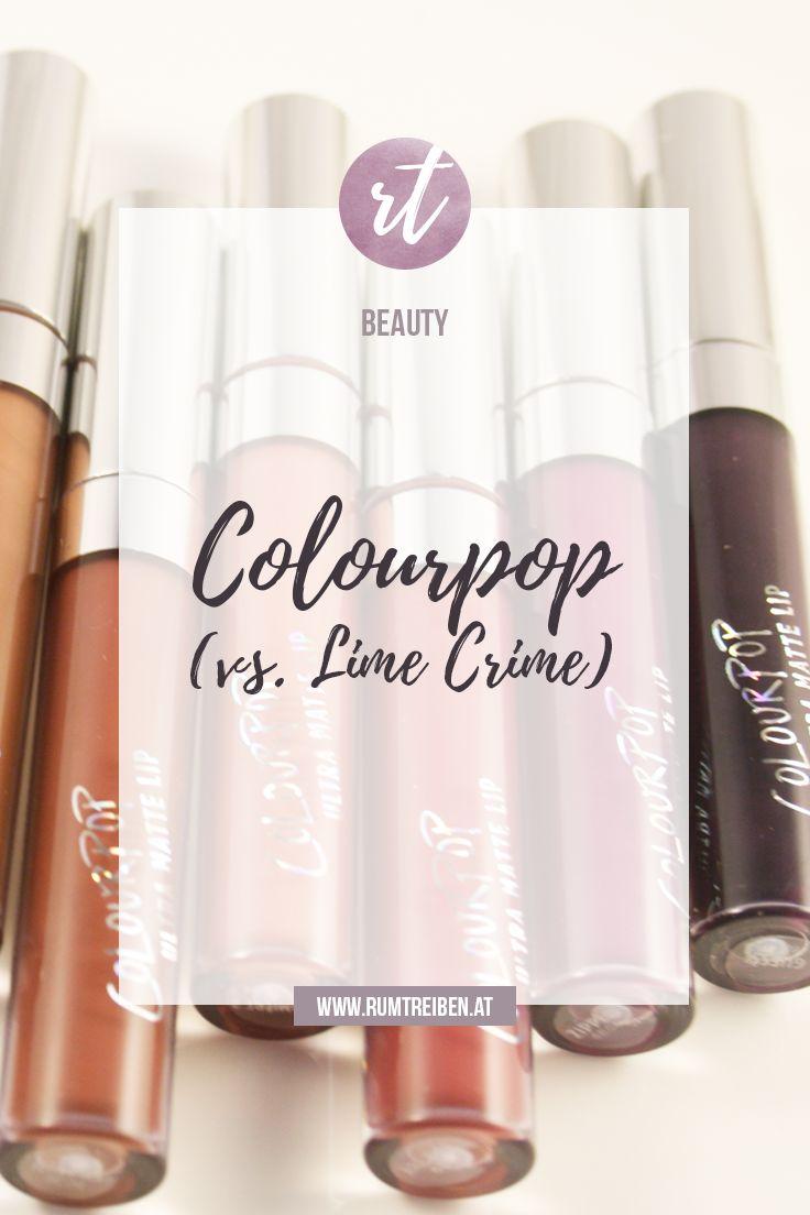 Mein Eindruck zu den Colourpop Liquid Lipsticks (im Vergleich zu Lime Crime), Super Shock Shadows und den Lippie Stixx  #beauty #kosmetik #makeup #colourpop #limecrime #liquidlipstick #lippenstift #lipstick