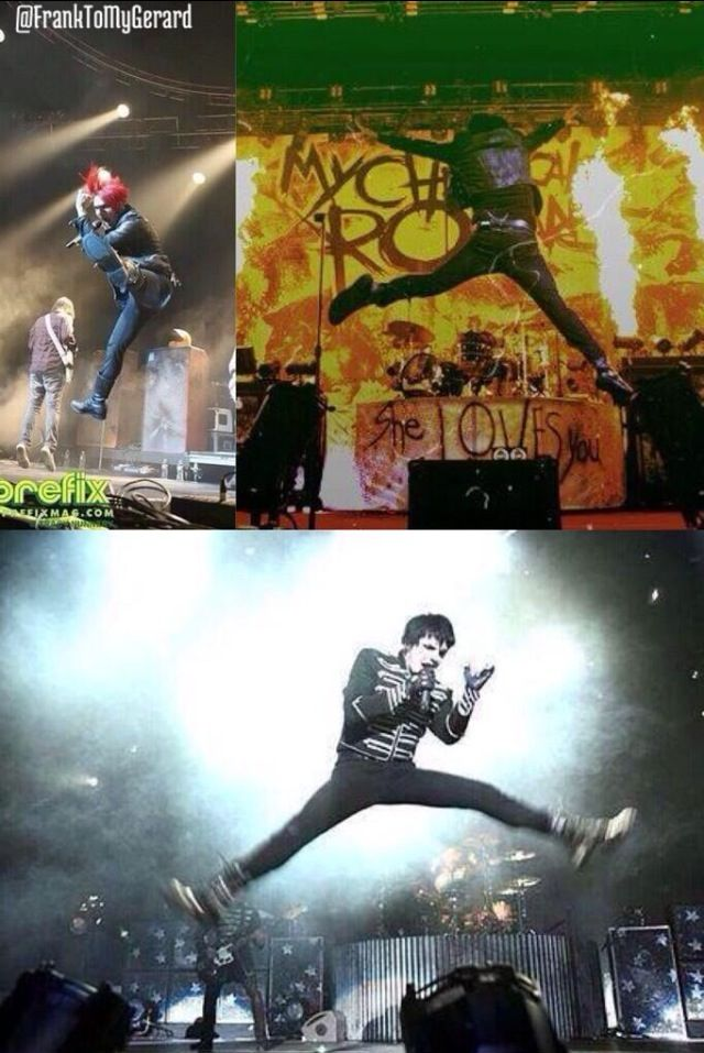 What are you doing Gerard XD>>> being an Emo ballerina<<<yep