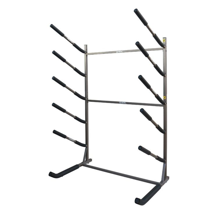 Freestanding Sup Rack Holds 5 Paddleboards