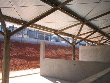 Projeto : Creche Municipal de São Paulo Arquiteto : Argeplan Arquitetura Cálculo Estrutural e Execução : Callia Estruturas de Madei...
