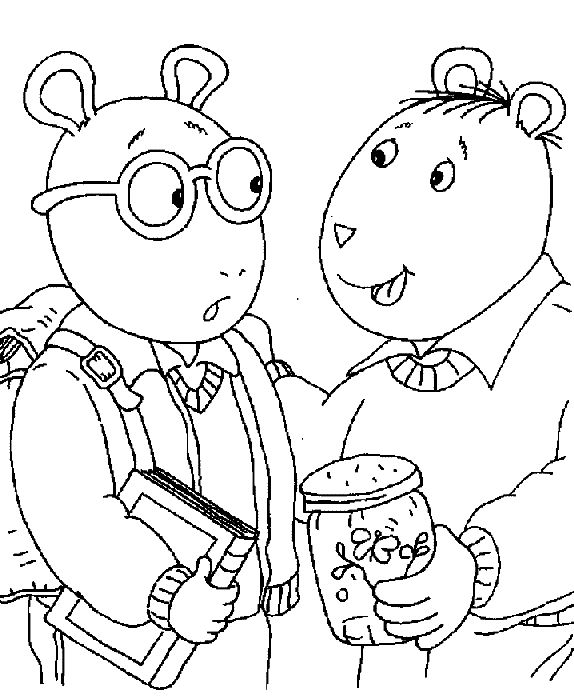Best 10 Arthur images on Pinterest   Coloring pages, Coloring sheets ...