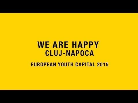 ▶ Happy in Cluj (European Youth Capital 2015) - Pharrell Williams - YouTube (video by AV Media Productions | organizat de Timaf