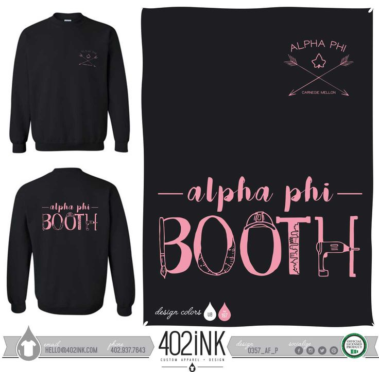 #402ink #402style 402ink, Custom Apparel, Greek T-shirts, Sorority T-shirts, Fraternity T-shirts, Greek Tanks, Custom Greek Apparel, Screen printed apparel, embroidered apparel, Sorority, APHI, Alpha Phi, Philanthropy