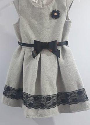 Kup mój przedmiot na #vintedpl http://www.vinted.pl/odziez-dziecieca/sukienki/16867925-elegancka-sukienka-na-podszewce-z-paseczkiem
