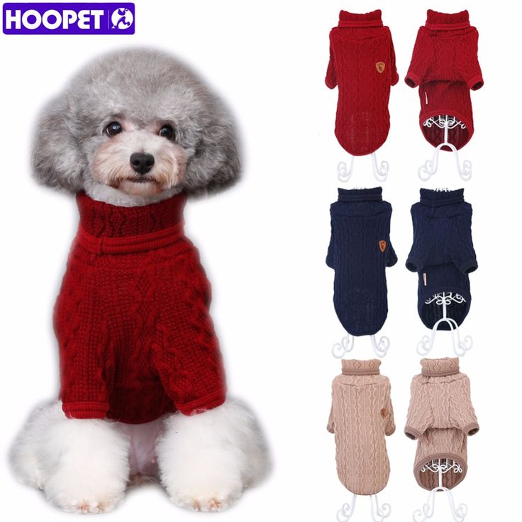 Like and Share if you want this  Knit Sweater for Dogs - Classic Turtleneck Sweatshirt Size S to XL     Tag a friend who would love this!     FREE Shipping Worldwide     Get it here ---> http://sheebapets.com/dog-cat-knit-sweater-kitten-puppy-classic-turtleneck-sweatshirt-knitwear-pet-autumn-winter-coat-clothes-apparel-3-colors/
