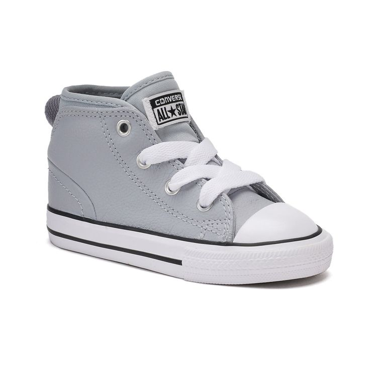 Toddler Boys' Converse Chuck Taylor All Star Syde Street Mid Sneakers, Size: 9 T, Grey Other