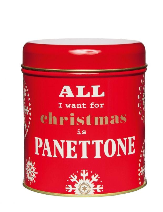 Voyage en Italie Gâteau traditionnel de Noël dégusté en Italie, ce panettone fait un parfait cadeau dans sa jolie boîte rouge, blanche et or. Panettoncino, Chiostro di Saronno aux Galeries Lafayette, 4,50 euros