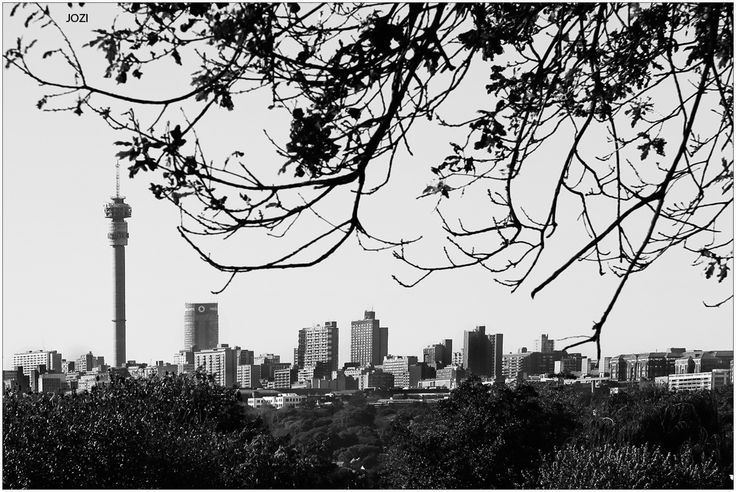 Jozi Skyline as seen from the Melville side...