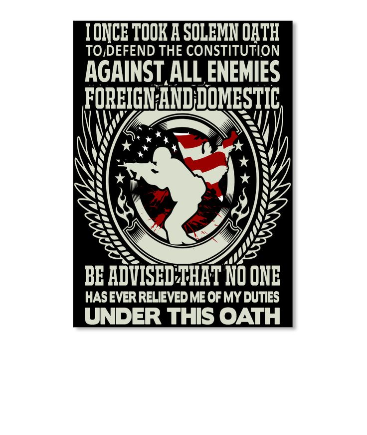 Discover veteran solemn oath sticker sticker a custom product made just for you by teespring i once took a solemn oath to defend against